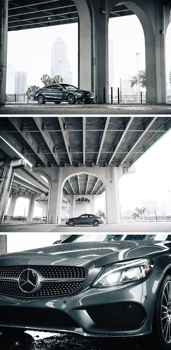 Greyish perfection: The Mercedes-Benz C-Class Coupé.  Photos by Steven Sampang (http://www.stevensampang.com) for #MBphotopass via @mercedesbenzusa