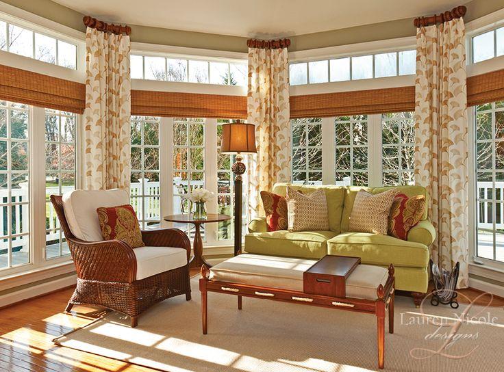 17 Best Ideas About Sunroom Curtains On Pinterest Corner