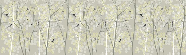 May Magpie - Fototapeter & Tapeter - Photowall