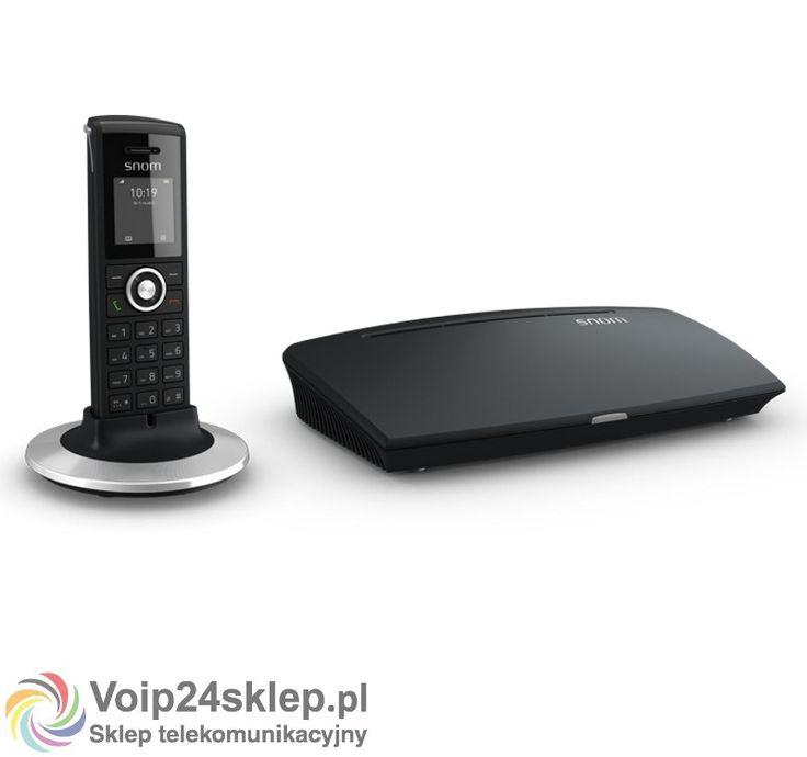 Telefon bezprzewodowy Voip Snom M325