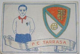 F.C. Tarrasa. Temporada 1928-29. Cromos Amatler.
