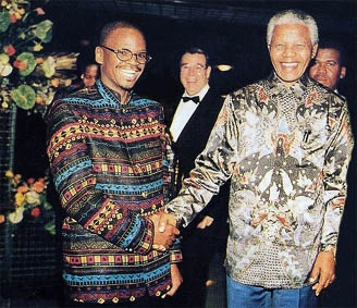 The Madiba-shirt - style made popular by Nelson Mandela