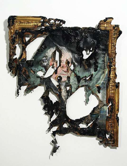 Intentionally Decayed Art - Mutilated Masterpieces by Valerie Hegarty (GALLERY)