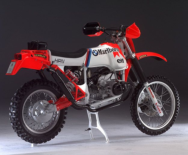 Baja 1000 BMW GS980R by HPN  This machine is superficially similar to BMW's 'Africa' enduro bike, the R80G/S Paris-Dakar