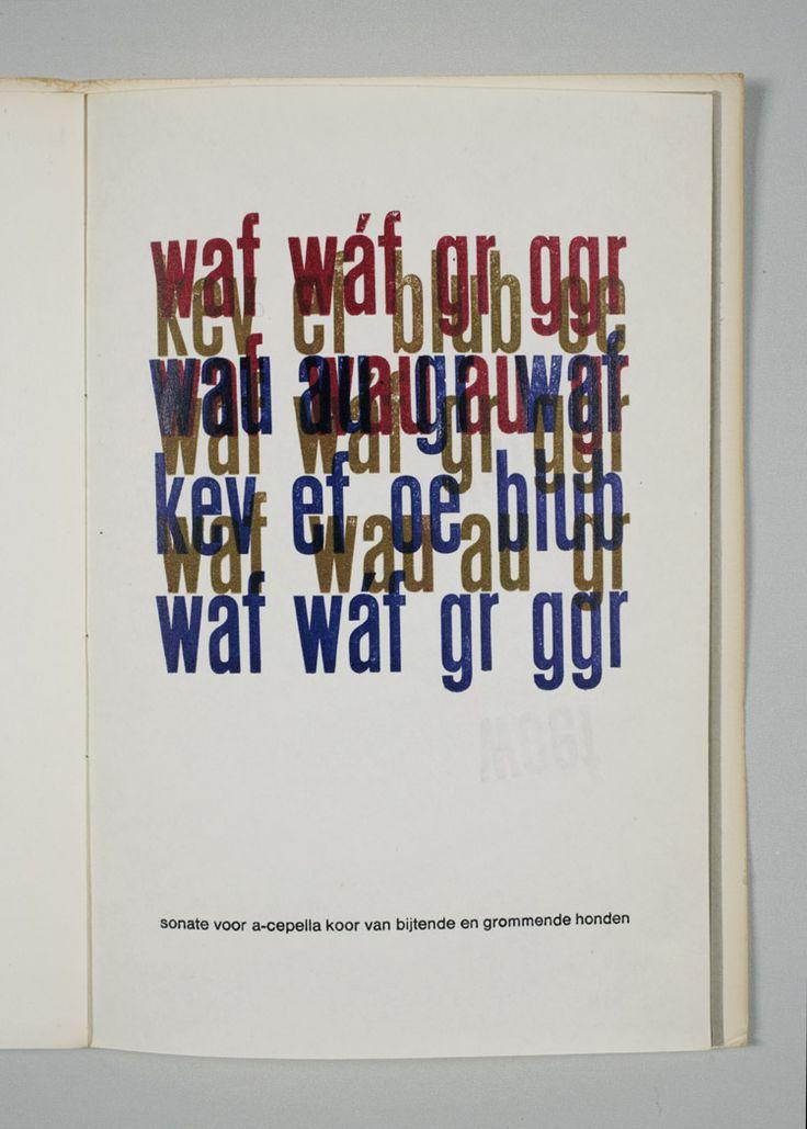 Frans de Jong, *Waf. Blafoefening*. Amsterdam, Frans de Jong, 1966