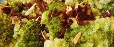 Receta brócoli salteado con jamón. Ingredientes, cocinar brócoli salteado. Recetas de brocoli fáciles.