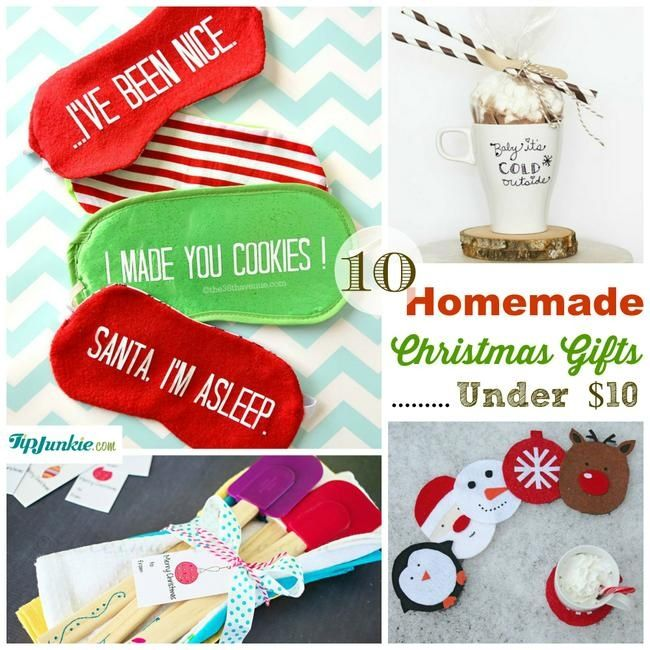 1321 best gifts under 10 images on pinterest christmas ideas homemade christmas gifts under 10 gift idea negle Choice Image