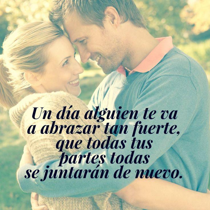 ¿Ya llegó a tu vida? #amor #abrazo #pareja