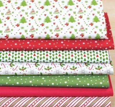 "Набор тканей ""Weihnachten"", red/green"