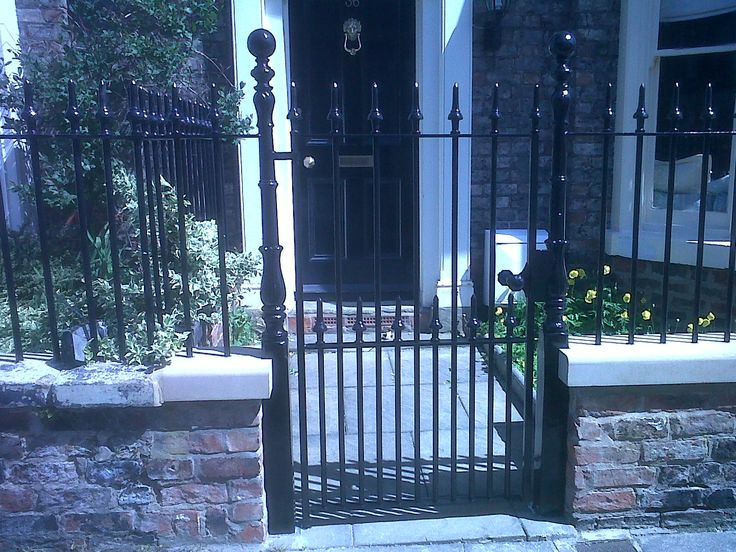 Georgian Iron Railings Georgian Gates And Railings