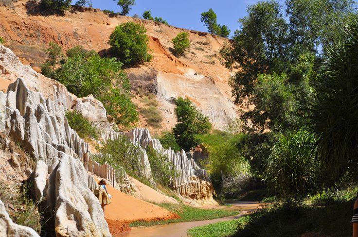 Fairy stream - very beautiful place in Muine, Vietnam.