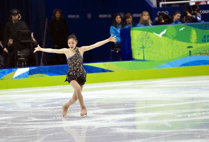 It's amazing how much emotion and artistry she is able to portray on the ice.