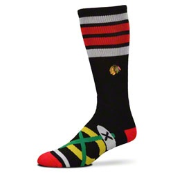 NEW ARRIVAL: Chicago Blackhawks Striped Big Logo Socks #ChicagoBlackhawks #Hawks #Blackhawks  http://www.fansedge.com/Chicago-Blackhawks-Striped-Big-Logo-Socks-_1042148418_PD.html?social=pinterest_pfid47-35341
