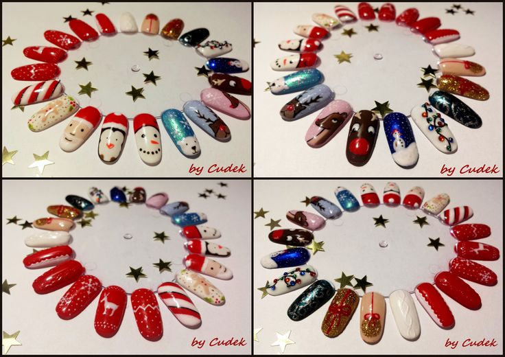 christmas nails designs  christmas nails ideas