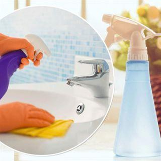 Gör din egen rengöringssprej med bara två ingredienser
