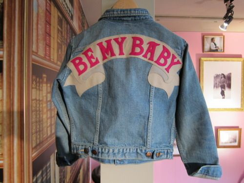 Be My Baby denim jacket by Olympia Le-Tan