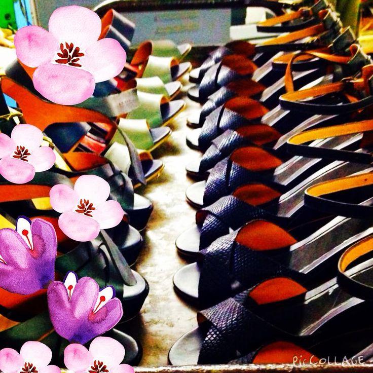 #springtime #sandals #ss16 #leather #pmshoes #instashoes #instadaily #boho #follownow