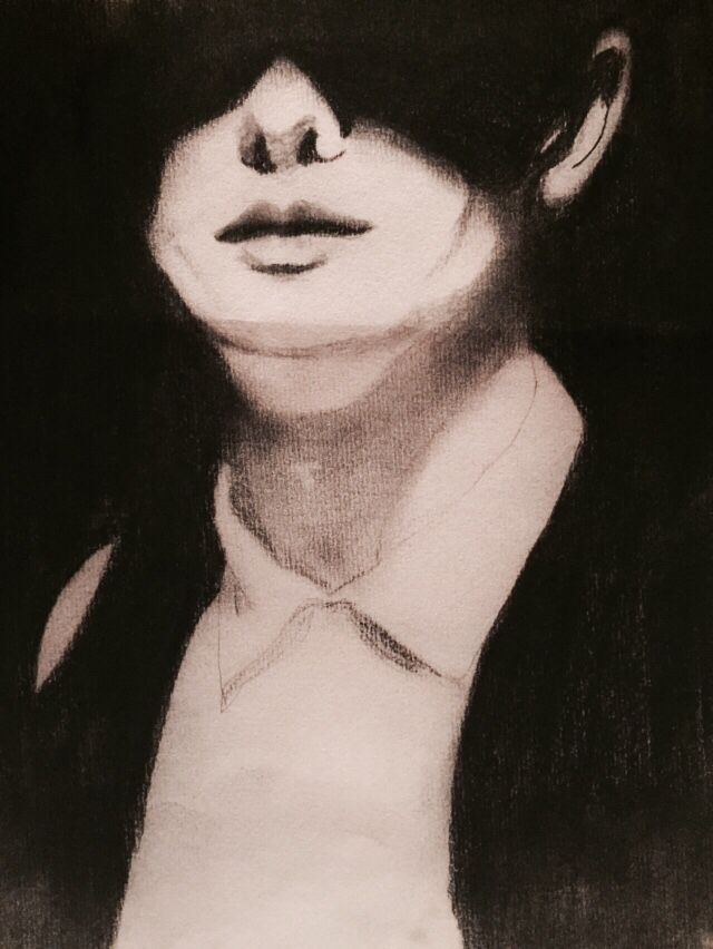 Charcoal- face