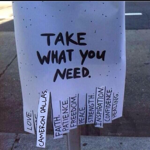 i will do this and put it up around places