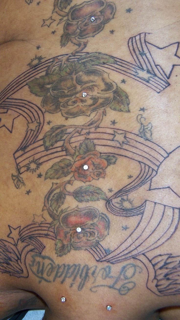 back dermal tattoo piercing dermal piercings 2 for 100 body piercing pinterest tattoos. Black Bedroom Furniture Sets. Home Design Ideas