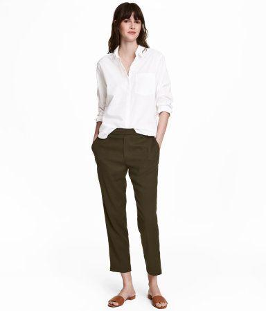 Pull-on-Hose   Braun   Damen   H&M DE