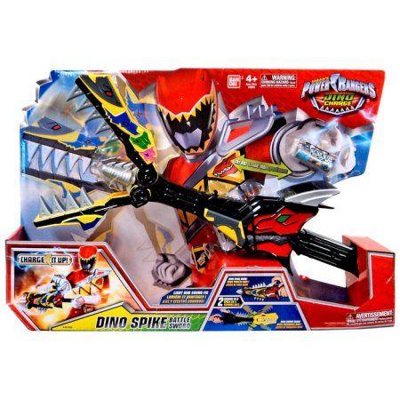 Bandai Power Rangers Dino Charge Dino Spike Battle Sword, Multicolor