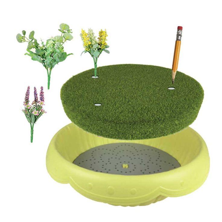 Flower Fairies Round Moss Fairy Garden Insert-Toy Universe