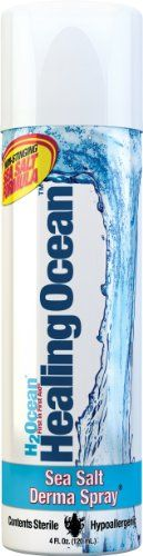 H2Ocean Healing Ocean Derma Spray, 4 Fluid Ounce H2Ocean