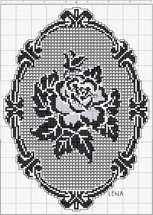 Filet crochet                                                                                                                                                                                 More