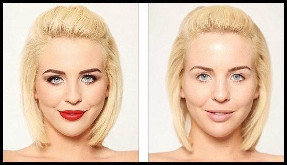 Lydia Bright sans maquillage!   thefashionguise.com