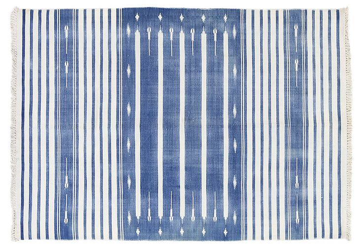 Blue And White Dhurrie Rug Picks For The Home