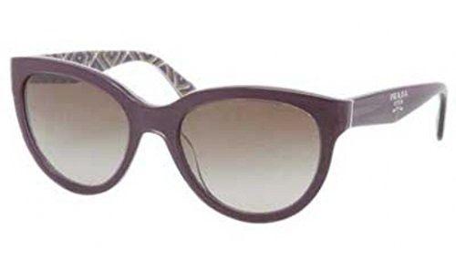 Prada PR05PS Sunglasses-MAT/1X1 Violet/Roll (Brown Gradient Lens)-55mm | $410,350.01