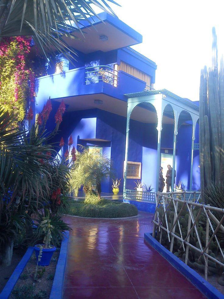 Jardin Majorelle - Marrakech, Morrocco