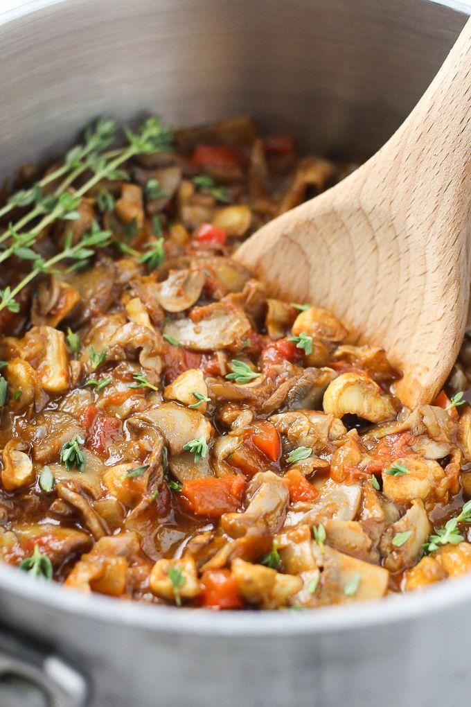 Vegan Mushroom Goulash Recipe Vegan nutrition