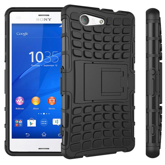 New Case - Sony Xperia Z3 Compact Case Dual Layer Rugged Hybrid Kickstand - BLACK, $11.95 (http://www.newcase.com.au/sony-xperia-z3-compact-case-dual-layer-rugged-hybrid-kickstand-black/)