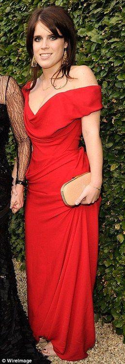 HRH Princess Eugenie of York, granddaughter of Queen Elizabeth II (House of Windsor).