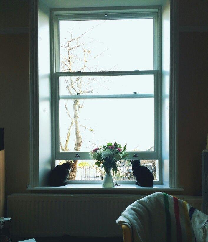 New sash window by Patchett Joinery.