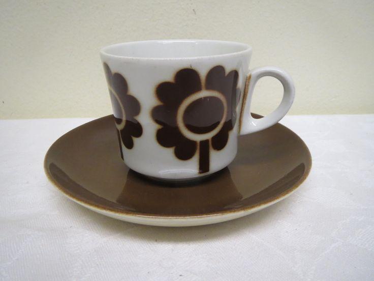 Arabia, puhalluskuvioinen kahvikuppi, 25 euroa.