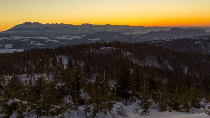 Radziejowa – Beskid Sądecki w zimowej aurze | Góry i ludzie