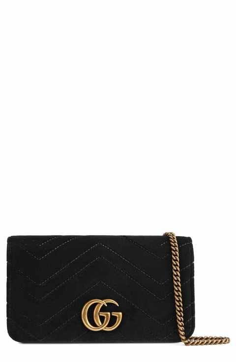 ff1e69f86895 Gucci GG Marmont 2.0 Matelassé Velvet Shoulder Bag | Final Purses in ...