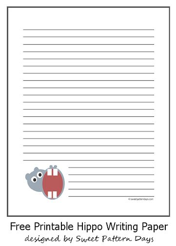 Free lined stationery - free printable lined stationary