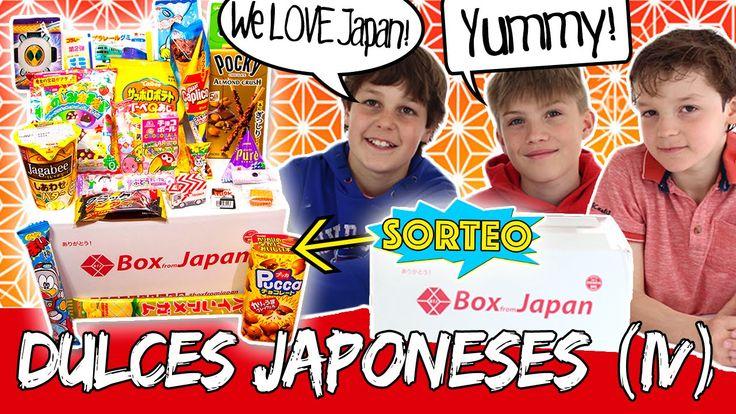 Probamos DULCES JAPONESES (IV) * ¡¡SORTEO de una BOX FROM JAPAN!!