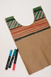 Kindergarten Cinco de Mayo Activities: Make a Paper Bag Serape