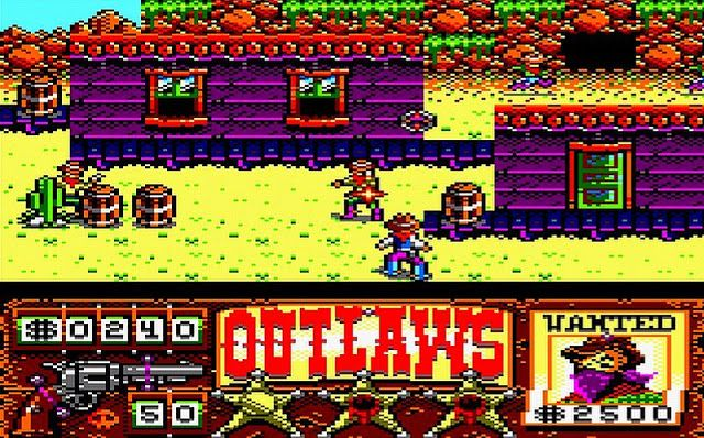 Indie Retro News: CPCRetroDev 2016 - Outlaws wins overall in the Amstrad CPC dev compo