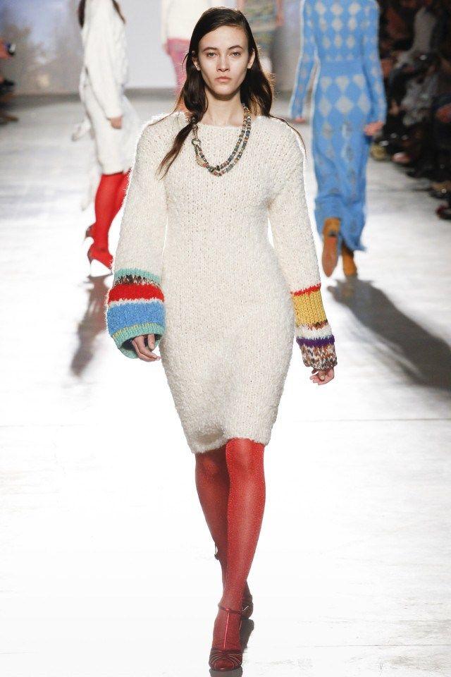 Вязаный обзор коллекции Missoni с недели моды в Милане сезона осень-зима 2017-2018 в подборке от MsKnitwear.