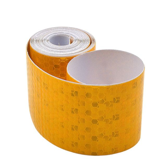 1PC 5m DIY Red Car Body Decoration Reflective Sticker Stripe Tape Adhesive Decal