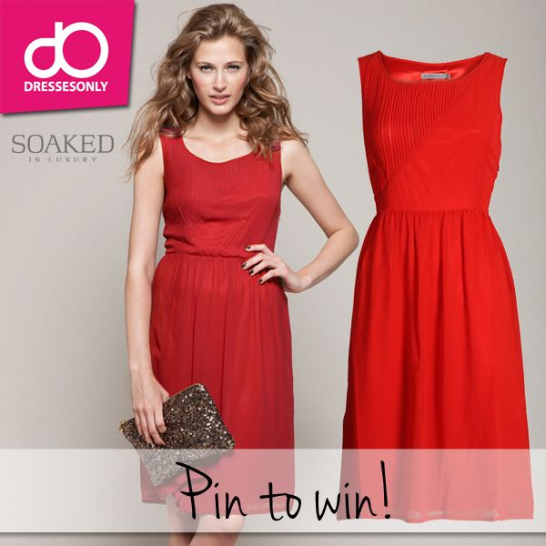 Repin, volg Dresses Only op Pinterest en win deze jurk van Soaked in Luxury (79,95 euro)