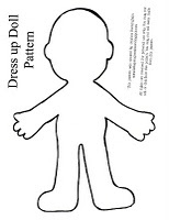 Dress up Doll Pattern( Also clothes patterns as well on this page.