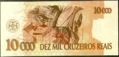Dinheiro de Metal: Dez Mil Cruzeiros Reais (1993) - A Cédula que Nunca Circulou