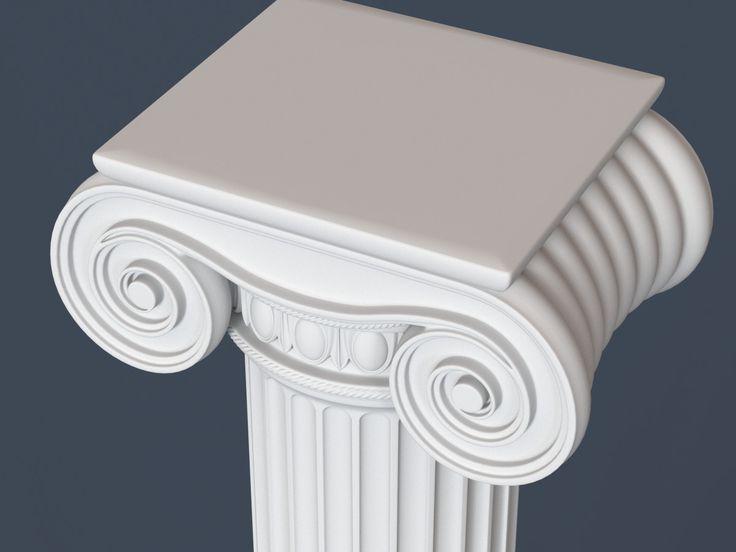 3ds max capital column